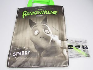 Disney Frankenweenie Sparky tote Halloween trick or treat bag subway premium