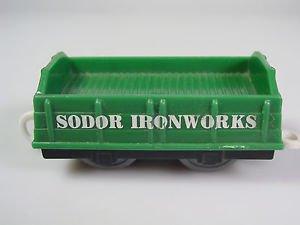 Thomas Friends Trackmaster sodor ironworks green train car
