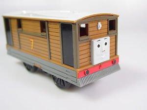 Thomas Friends Trackmaster Motorized Toby train car vehicle