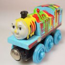 Wood Thomas the train Splatter paint magnet