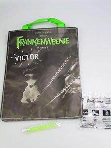 Tim Burton FRANKENWEENIE Victor tote Halloween trick or treat bag subway promo