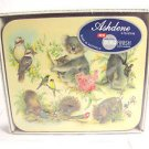 Koala Bear kangaroo Australian Coasters set of 6 plants animals by Ashdene