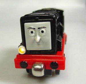 Thomas the train Diesel Talking light up Diecast metal Take N Play magnets