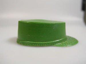 GI Joe soldier green fatigue hat cap Vintage action figure accessory