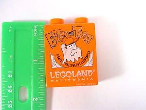 Lego Brick Legoland California Halloween Brick or Treat Duplo Block 2007
