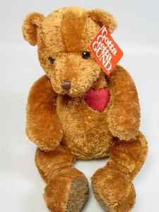 Gund Teddy Bear Stuffed animal Sweet thing I love you birthday gift childs gift