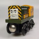 Thomas Wooden railway Dirty Iron 'Arry Sodor Ironworks car