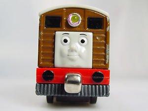 Thomas the train Take Along Metal Talking Toby Train engine Die Cast