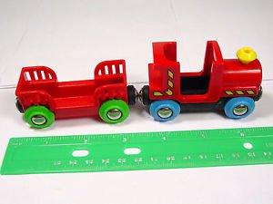 Brio train Engine Wood plastic Pirates Car magnetic take n play