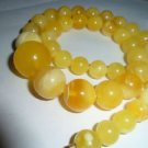 baltic amber round necklace