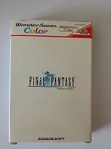 Final Fantasy FF WonderSwan Color *In-Box* *Japan*