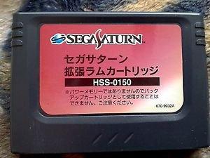 Original Sega Saturn RAM Cartridge HSS-0150 1MB *Used*