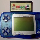 WonderSwan Console Game System Bandai WS *Clear Blue* *Japan* +1 Game Cart.