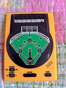 Epoch Electronic Baseball Game Vintage Handheld   Dejikomu 9