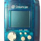 Sega Dreamcast VMU Visual Memory Unit | Transparent Blue
