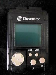 Sega Dreamcast VMU Visual Memory Unit   Transparent Black