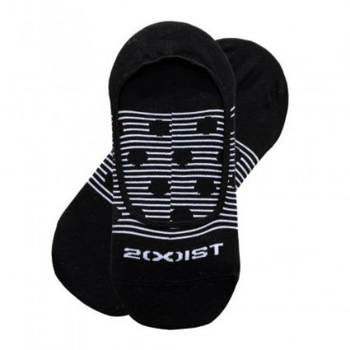 2XIST Men's Liners Seamless Toe Black Shoe Size 6-12