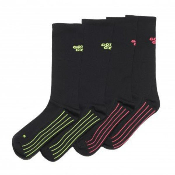 Compression Socks for Women Golds Gym Black 2 Pair Size 9-11