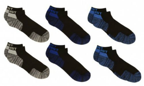 2Xist Men's Sport Low Cut Socks 6 Pair Size 10-13