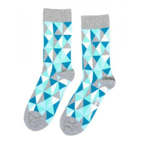 Jonathan Adler Harlequin II Crew Socks for Women Size 9-11