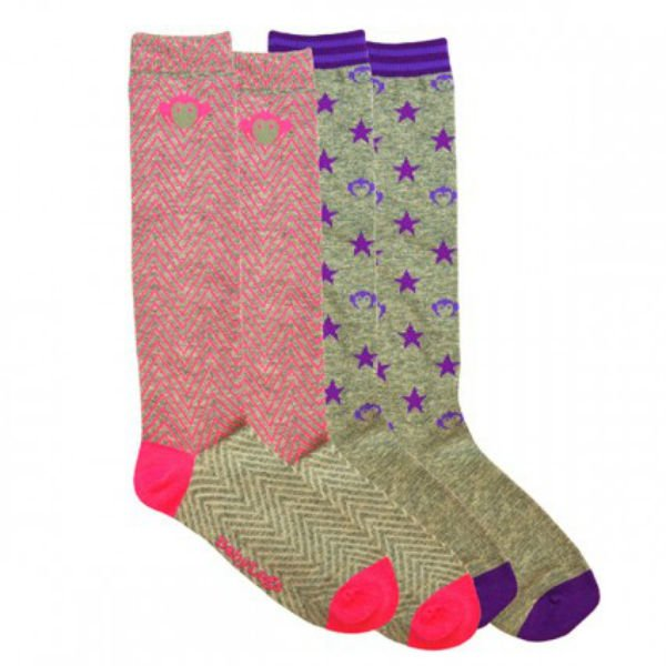 Appaman and BabyLegs Mixed Up Stars Knee High Socks 2 Pair