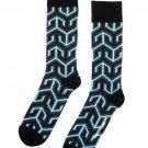 Jonathan Adler Men's Jaipur Arrow Crew Socks One Pair Size 10-13