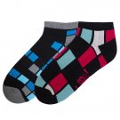 KB Sport Low Cut Ankle Socks for Men by K.Bell Cushioned Sole 2 Pair Size 10-13