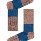 Happy Socks, Wool Block Sock for Men and Women One Pair