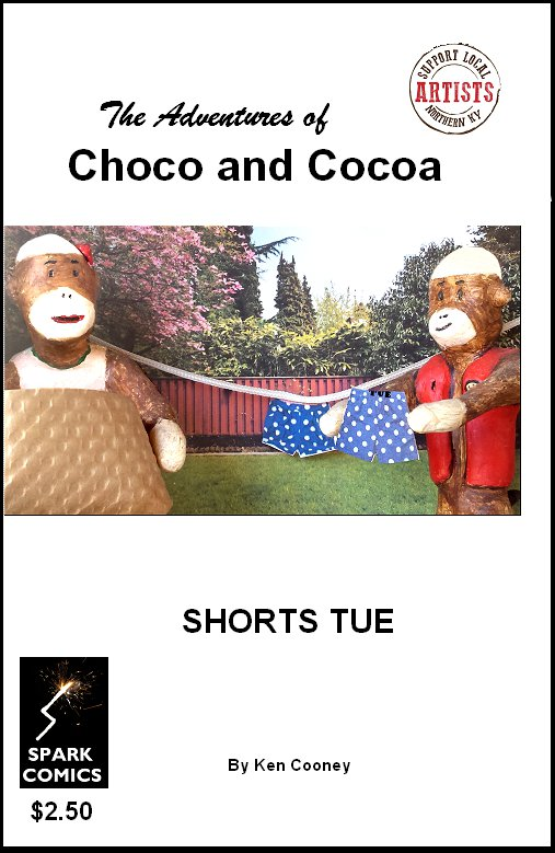 Autographed w/ custom drawing! The Adventures of Choco And Cocoa: Shorts Tue