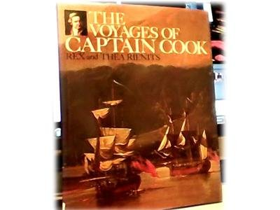 THE VOYAGES OF CAPTAIN COOK~RIENITS~HB DJ~PICTURE BOOK