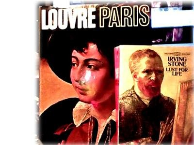 2 ART BOOKS~LOUVRE PARIS~BEAUTIFUL~LUST FOR LIFE~LOT