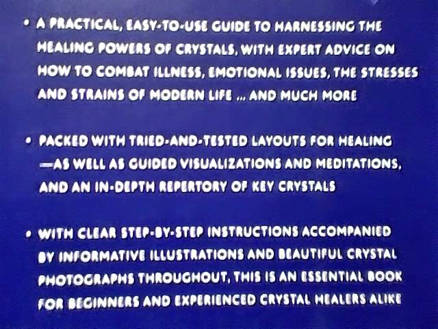 CRYSTAL HEALING~HARNESS HEALING POWERS~STEP BY STEP~PB