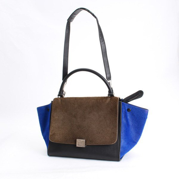 Celine 2WAY Shoulder Bag Tricolor