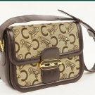 Celine Canvas Shoulder Bag