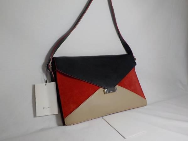 Celine Leather Clutch
