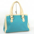 Celine Shoulder Bag Turquoise Blue
