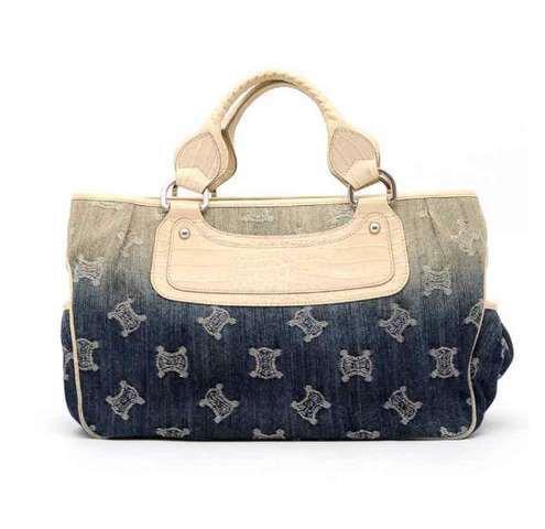 Celine boogie handbag denim New