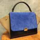 Celine Trapeze Luggage Tricolor 2way bag