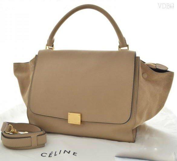 CELINE trapeze 2WAY bag handbag used