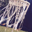 Pastel Pink Daydream Doily Dreamcatcher Mobile