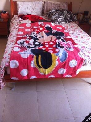 Cute NEW disney minnie mouse fleece blanket