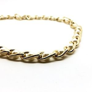 WOMEN'S CHAIN AND PEARLS SET (BRACELET AND NECKLACE)