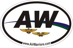 "4x6"" AirWarriors Sticker"