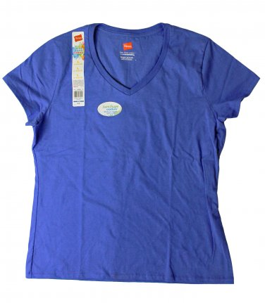 Womens V-Neck Tees - Bluefin Large