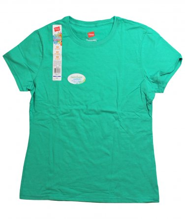 Womens T-Shirt - Emerald Green Large