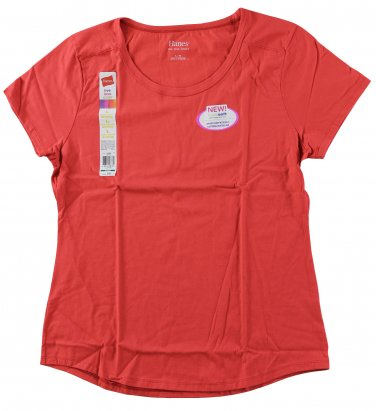 Womens Scoop Neck T-Shirts - Sinopia XLarge