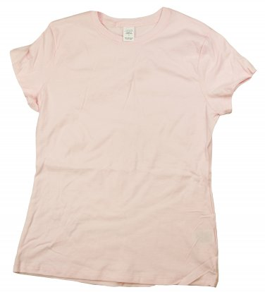 Womens T-Shirts - Pale Pink Small