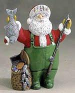 Fisherman Santa Music Box