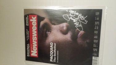 Manny Pacquiao signed Magazine