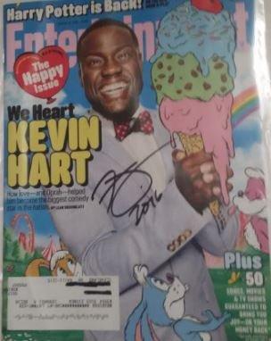 Kevin Hart Signed Magazine